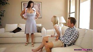 Moms Teach Sex - Mom catches horny teen couple
