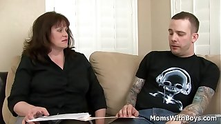 Strict College Dean Ginger Speer Fuck by Student with a big young cock