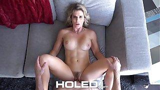 HOLED - Virgin boy anal fucks busty stepmom Cory Chase