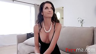Milf MOM doing SON