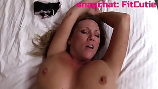 Hot MILF step mom decides to have sex with her step son