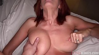 Red head Milf Loves her Step-son
