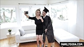 Mom promised Son If he goes to college she will let him fuck her
