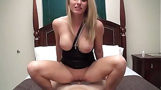 Hot Mom Cory Chase creampie by son