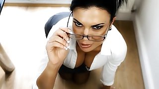 Overly Strict Taboo Stepmother Roleplay Punishes Your Cock
