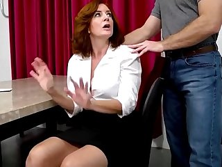 Andi James in Erotic Old Mom with Classic Tits