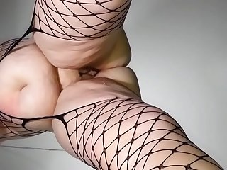 Big dripping creampie in slow motion