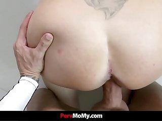 Big Dick Stepson Fucks His Stepmom In The Kitchen