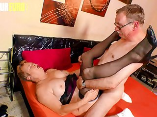 AMATEUR EURO  German Granny Susanne H. Has Her Moments With Husband