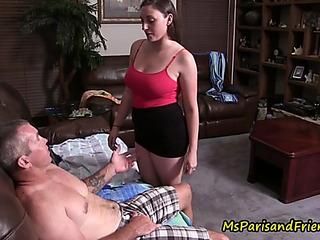 Dad daughter acquire caught