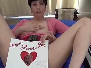 Mammas homemade ribald valentine for son