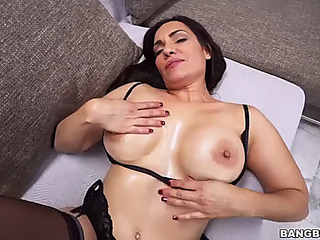 Breasty sophie leon likes wildly drilled