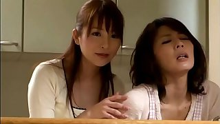 Yabe Hisae/Nagasawa Maomi - Thoughtful daughter in law takes care of mother in law sexual needs