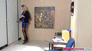 office sex with mommy