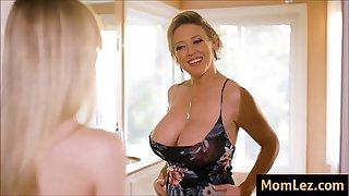 Daughter Envies Moms Big Tits