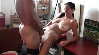 Fucking Slutty Mom with Saggy Tits
