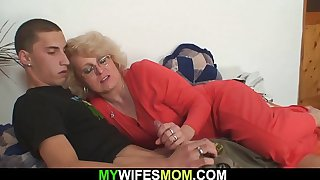 My wifes blonde mother
