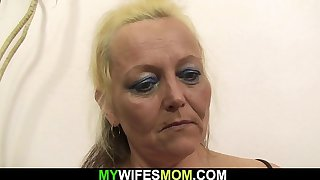 Old mother inlaw taboo fuck