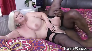Granny dicked before interracial old vs young facial