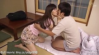 shy son gets mom blown and fucked