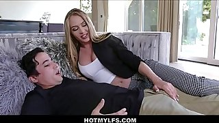 Hot Big Tits MILF Step Mom Family Sex With Young Stepson After Allergic Reaction