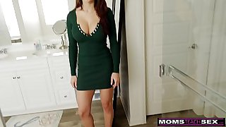 Big Breasted Lexi Luna Drains Step Sons Cock Before School