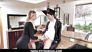 Lucky Stepson Makes Sex Bet With Hot Stepmom Kenzie Taylor He Can Graduate
