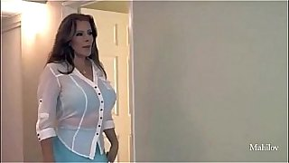 Nicky Ferrari Mexican Horny Mom, checking her son computer,