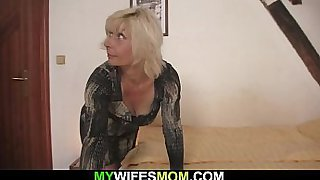 Horny mom lures him into cheating sex