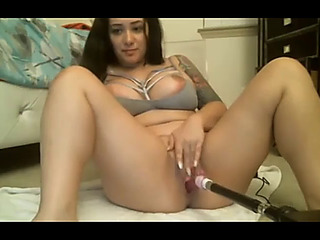 Hawt dark brown mother i'd like to fuck plays with her toys on cam